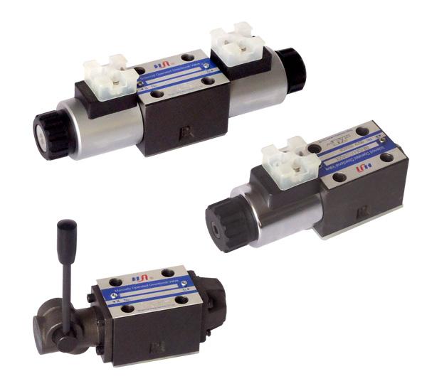 Modelos: 4WE6 | Descripción: Válvulas Hidráulicas Manual, tamaño TN 6, presión 315 bar.