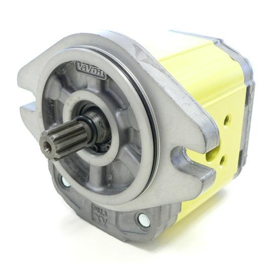 Motor de Engranajes XU-2 | XU219 - MOTOR TIPO 'SAE A' - BRIDA ø82.5 - eje estriado