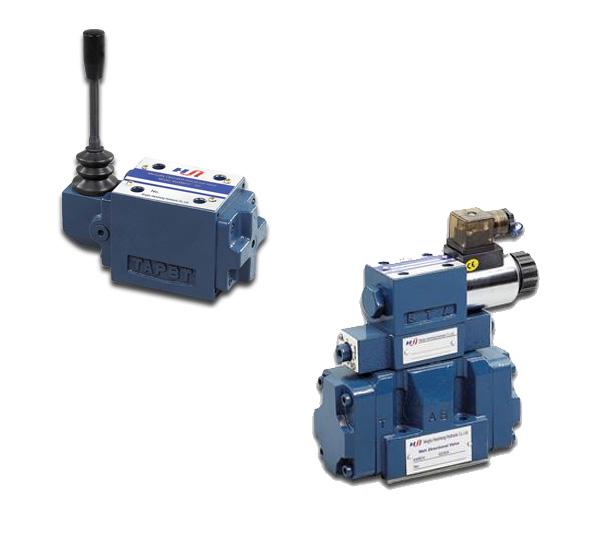 Modelos: 4WE16 | Descripción: Electroválvulas Modular, tamaño TN 16, Bobina 24 V.DC, 24,110.220 V.AC, presión 315 bar.