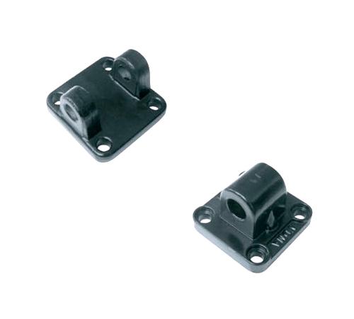 TIPOS: Hembra, macho y caballete | DESCRIPCION: Para cilindros ISO 6431, VDMA 24562: de ø32 hasta ø 125.